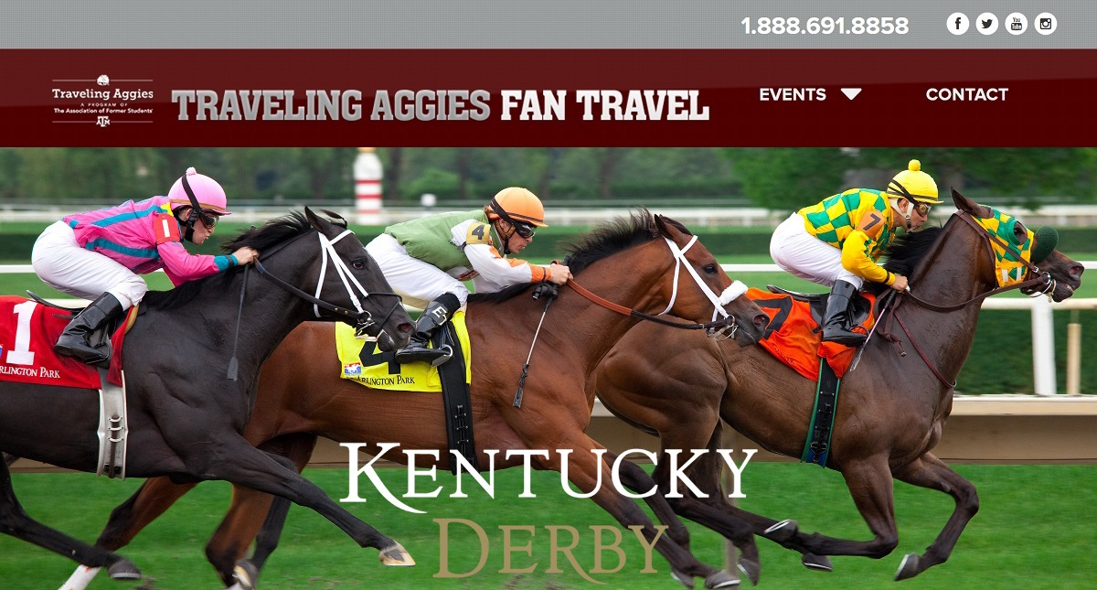 Texas A&M Alumni Kentucky Derby Travel Packages