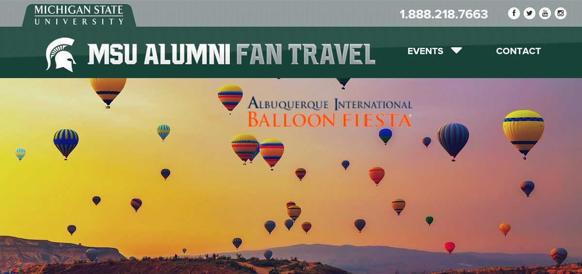 Michigan State Alumni International Balloon Fiesta Tour