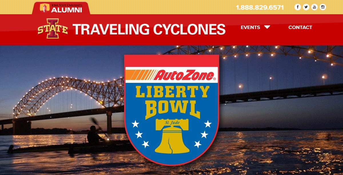 Official Iowa State Liberty Bowl Travel Packages
